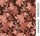 elegance seamless pattern with... | Shutterstock .eps vector #1084536110