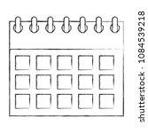 calendar planning month date... | Shutterstock .eps vector #1084539218