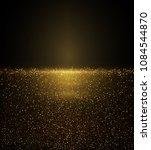 vector eps 10 shiny golden... | Shutterstock .eps vector #1084544870