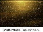 vector eps 10 shiny golden... | Shutterstock .eps vector #1084544873
