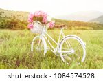 Beautiful White Vintage Bicycl...