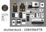 corporate identity template set ... | Shutterstock .eps vector #1084586978