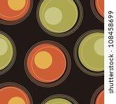 eps10 file. seamless retro... | Shutterstock .eps vector #108458699