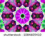 psychedelic background. bright... | Shutterstock . vector #1084605410