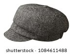 fashion hat  with  visor... | Shutterstock . vector #1084611488