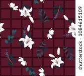 beautiful seamless pattern... | Shutterstock .eps vector #1084615109