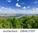 danube river donau canal viewed ... | Shutterstock . vector #1084617359
