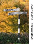 A Traditional Old Signpost Nex...