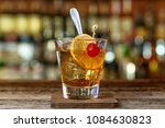 historical cocktail old... | Shutterstock . vector #1084630823
