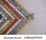 rulers and scales in metric and ... | Shutterstock . vector #1084649549