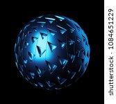 3d render background.... | Shutterstock . vector #1084651229
