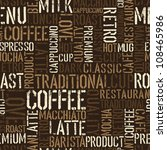 seamless coffee experience... | Shutterstock .eps vector #108465986