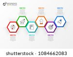 infographic design template.... | Shutterstock .eps vector #1084662083