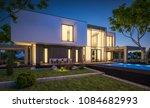 3d rendering of modern cozy...   Shutterstock . vector #1084682993