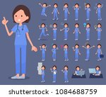 flat type surgical operation... | Shutterstock .eps vector #1084688759