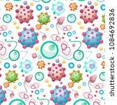 pattern image of viruses ... | Shutterstock .eps vector #1084692836