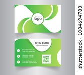 creative business card and name ... | Shutterstock .eps vector #1084694783