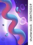 light pink  blue vertical... | Shutterstock . vector #1084702019