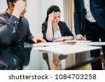 divorce or legal problems... | Shutterstock . vector #1084703258