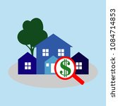 icon for renting house. it is... | Shutterstock .eps vector #1084714853
