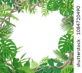 summer background with green...   Shutterstock .eps vector #1084720490