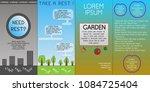 creative concept vector... | Shutterstock .eps vector #1084725404