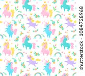 vector seamless pattern with... | Shutterstock .eps vector #1084728968
