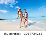 brother and sister enjoying... | Shutterstock . vector #1084734266