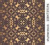 vector arabesque pattern.... | Shutterstock .eps vector #1084735196
