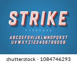 strike trendy inline sports... | Shutterstock .eps vector #1084746293