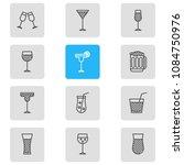 vector illustration of 12... | Shutterstock .eps vector #1084750976