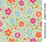 abstract floral background  ... | Shutterstock .eps vector #1084751348