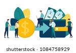 vector creative illustration of ... | Shutterstock .eps vector #1084758929