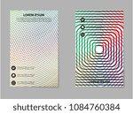 abstract business brochure... | Shutterstock .eps vector #1084760384