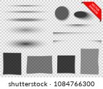 set of transparent vector... | Shutterstock .eps vector #1084766300