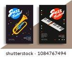 jazz music festival poster... | Shutterstock .eps vector #1084767494