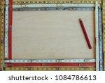 a framework of old vintage... | Shutterstock . vector #1084786613