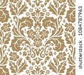 organic damask seamless vector... | Shutterstock .eps vector #1084787963
