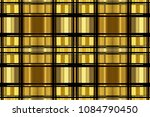 golden luxury seamless pattern... | Shutterstock . vector #1084790450