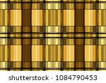 golden luxury seamless pattern...   Shutterstock . vector #1084790453
