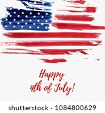 usa independence day background.... | Shutterstock .eps vector #1084800629