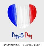 happy bastille day celebration... | Shutterstock .eps vector #1084801184