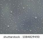 drops of water  dew falls.... | Shutterstock .eps vector #1084829450