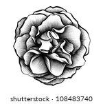 rose rendering | Shutterstock . vector #108483740