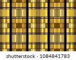 golden luxury seamless pattern...   Shutterstock . vector #1084841783