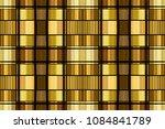 golden luxury seamless pattern... | Shutterstock . vector #1084841789