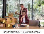 startup small business owner... | Shutterstock . vector #1084853969