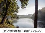 beautiful morning at huai pang...   Shutterstock . vector #1084864100