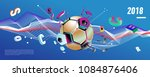 soccer and footbal digital web... | Shutterstock .eps vector #1084876406
