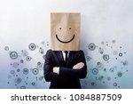customer experience concept ... | Shutterstock . vector #1084887509